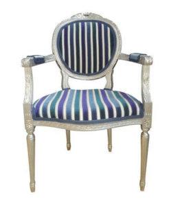 Silver Striped Blue