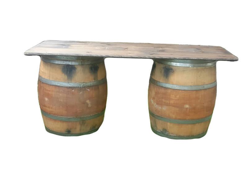Whiskey Barrel Bar | Uniquely Chic Vintage