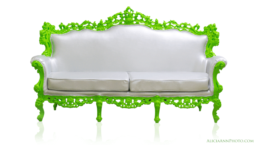 Nickelodeon Green Couch