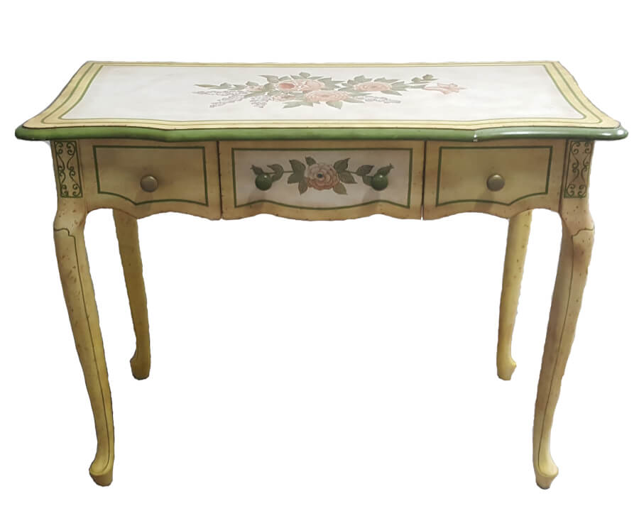Vintage French Garden Table   Uniquely Chic Vintage