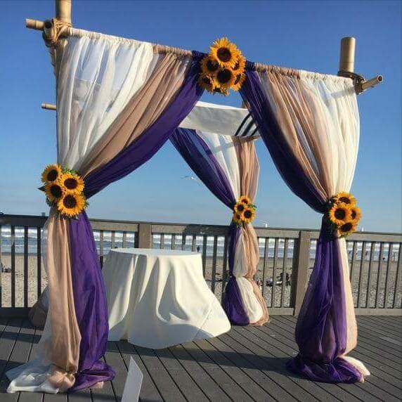 Bamboo Chuppah | Uniquely Chic Vintage Rentals