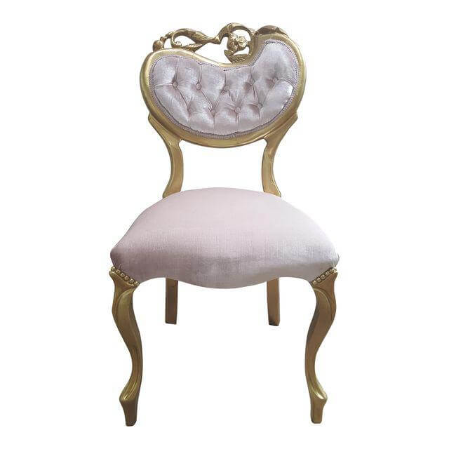 Pink Vanity Chair | Uniquely Chic Vintage