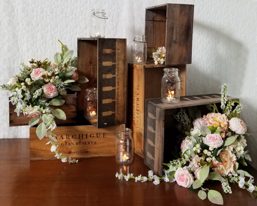 Wine Crates | Uniquely Chic Vintage