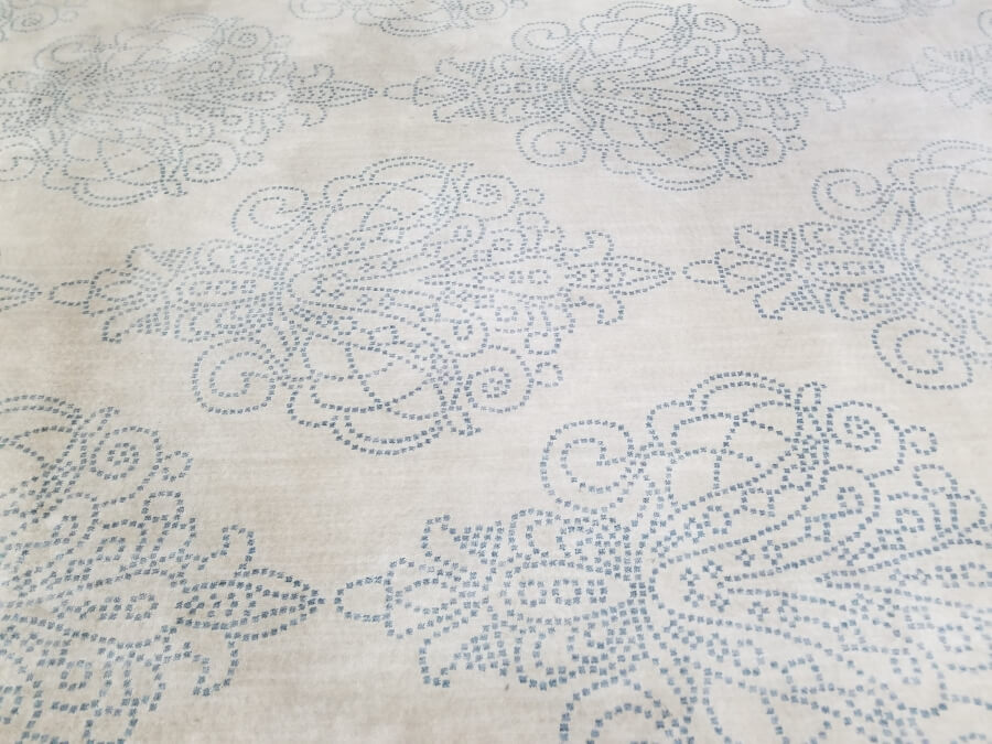 Ivory Damask Rug (Detail)   Uniquely Chic Vintage Rentals