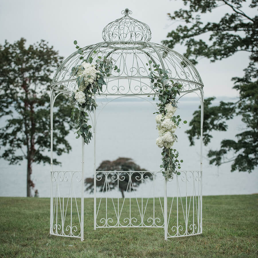 Bollywood Glam English Garden Gazebo | Uniquely Chic Vintage Rentals