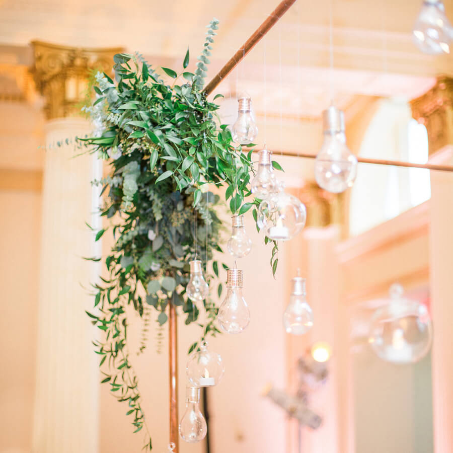 Large Copper Arbor (Detail) | Uniquely Chic Vintage Rentals