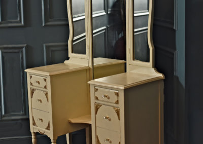Antique Ivory Vanity
