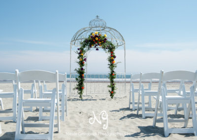 A Gazebo on the Beach
