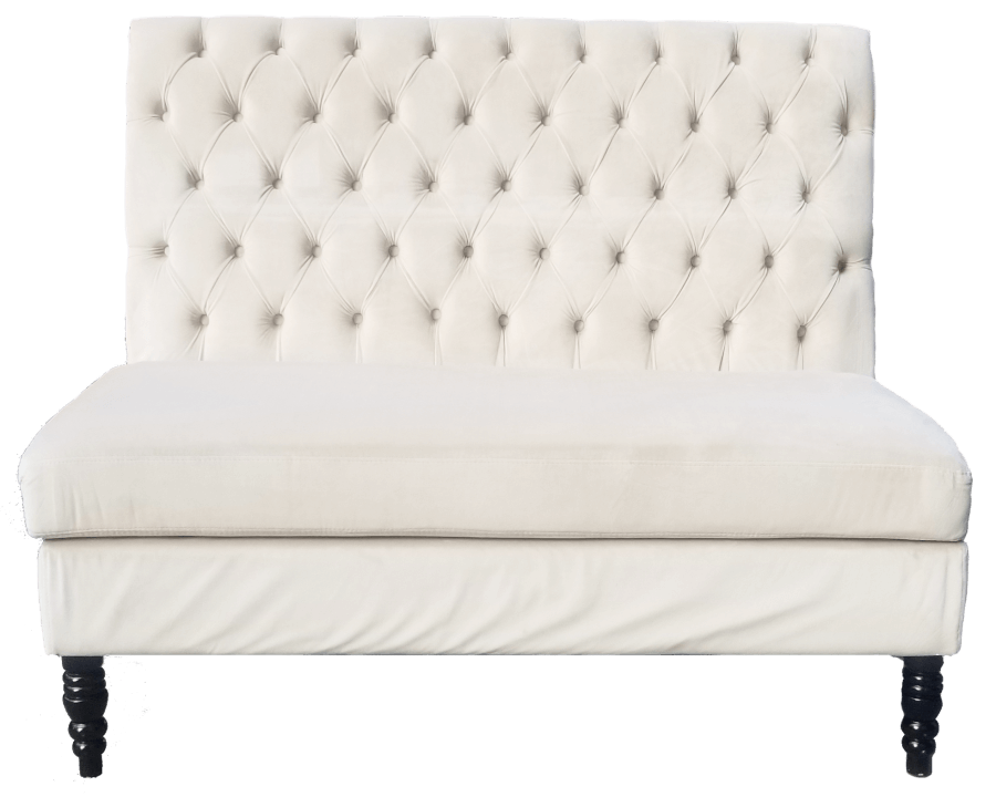 White Sweetheart Bench   Uniquely Chic Vintage Rentals