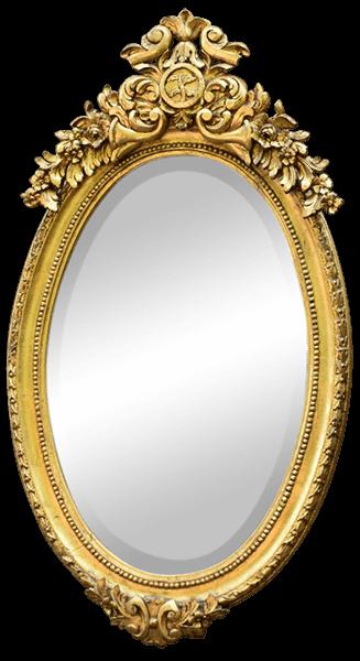 Victorian Oval Gold Leaf Mirror   Uniquely Chic Vintage Rentals